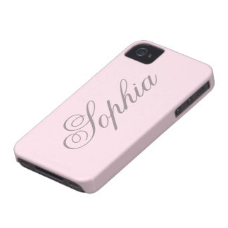 Macaron Pink iPhone 4/4S CaCase iPhone 4 Cover