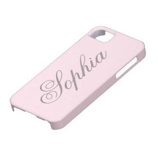 Macaron Pink iPhone 5 CaCase iPhone SE/5/5s Case