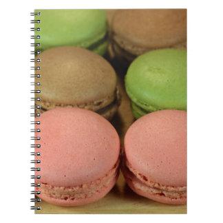 Macaron Spiral Notebook
