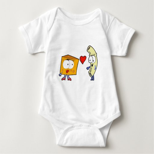 Macaroni and Cheese Baby Bodysuit