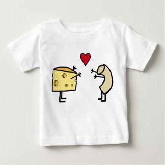 Macaroni and cheese baby shirt
