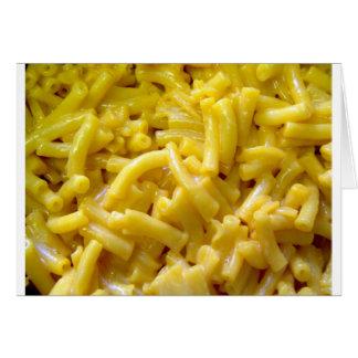 Macaroni And Cheese Card