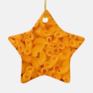 Macaroni And Cheese Ceramic Ornament