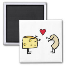 Macaroni and Cheese magnet