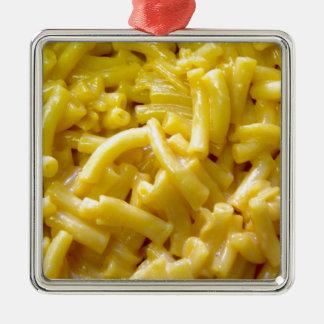 Macaroni And Cheese Metal Ornament
