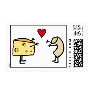 Macaroni and Cheese Stamp