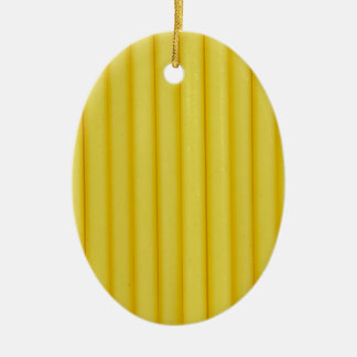 macaroni ceramic ornament