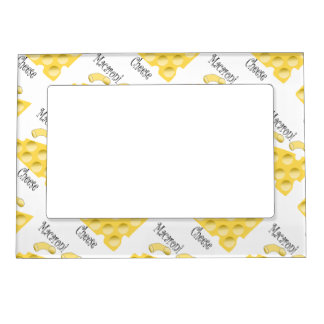 Macaroni Cheese Magnetic Photo Frame
