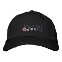 Macaroni Kid Distressed Cap
