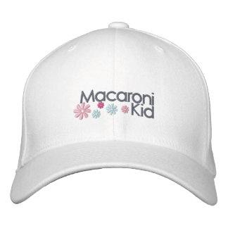 Macaroni Kid Embroidered Cap
