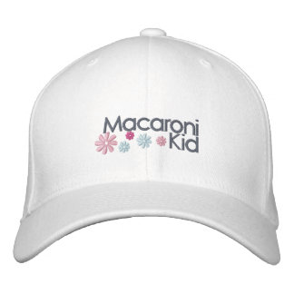 Macaroni Kid Embroidered Cap Embroidered Hat
