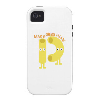 macaroni_mac and cheese please vibe iPhone 4 case