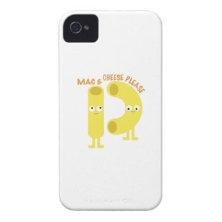 macaroni_mac and cheese please Case-Mate iPhone 4 cases