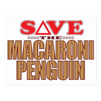 Macaroni Penguin Save Postcard
