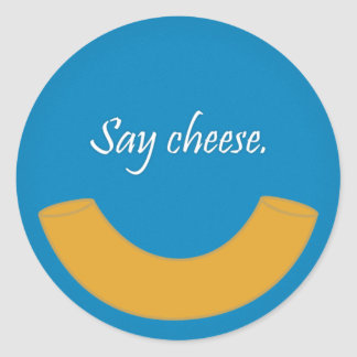 Macaroni Smile Stickers