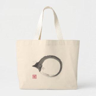 Macaroni, Sumi=e Enso cat Bag