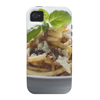 Macaroni with mince sauce and cheese vibe iPhone 4 case