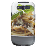Macaroni with mince sauce and cheese samsung galaxy s3 case