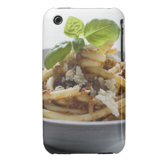 Macaroni with mince sauce and cheese iPhone 3 covers