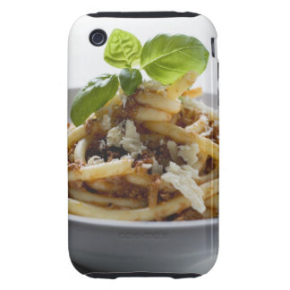 Macaroni with mince sauce and cheese iPhone 3 tough case