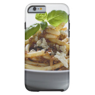 Macaroni with mince sauce and cheese iPhone 6 case