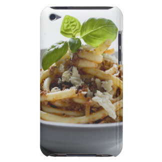 Macaroni with mince sauce and cheese iPod touch case