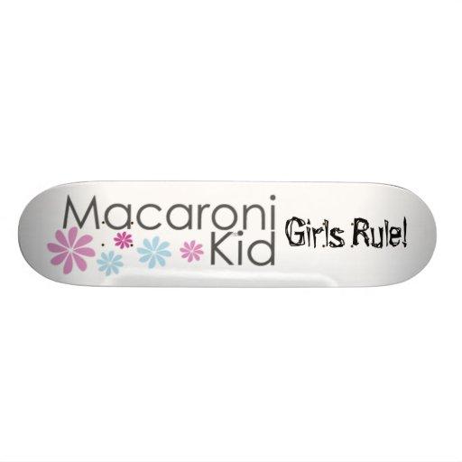 Macaronikid Girls Rule! Skate Board Decks