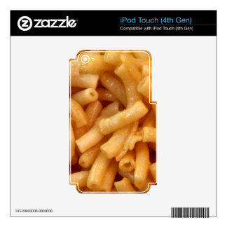 Macaroni's and cheese decal for iPod touch 4G
