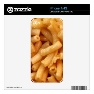 Macaroni's and cheese iPhone 4 decals