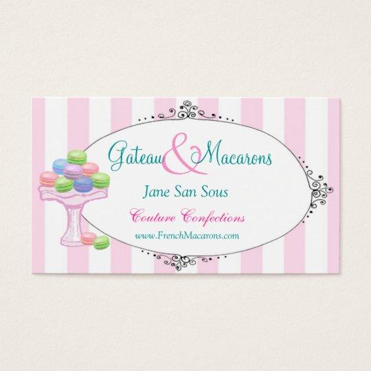 Macarons Business Card