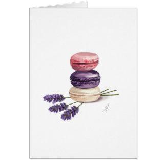 Macarons Card