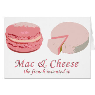 Macarons & Cheese - LeFrenchVintage Card