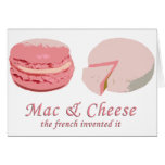Macarons & Cheese - LeFrenchVintage Cards