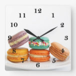 Macarons Clock