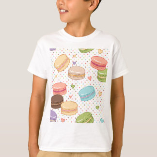 Macarons,cookies,french pastries,food hipster,then T-Shirt
