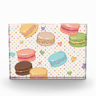 Macarons,cookies,french pastries,food hipster,tren acrylic award