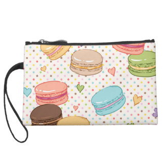Macarons,cookies,french pastries,food hipster,tren suede wristlet