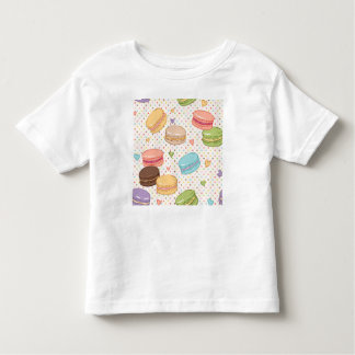 Macarons,cookies,french pastries,food hipster,tren toddler t-shirt