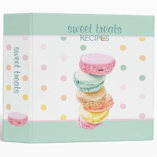 Macarons dots Avery Binder