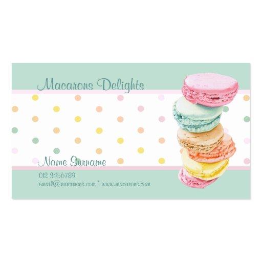 Macarons dots Business Card