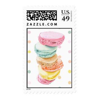 Macarons dots Stamp
