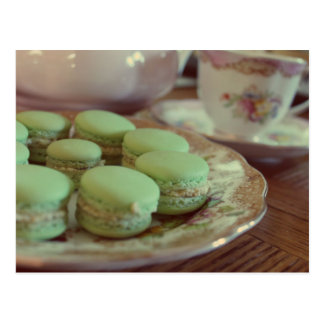 Macarons for Afternoon Tea Postcard