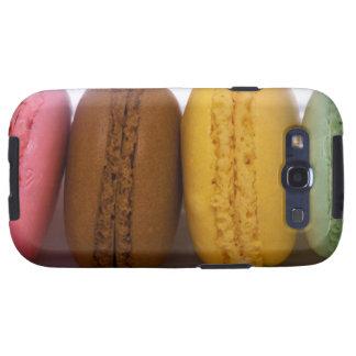 Macarons franceses gastrónomos importados macarro samsung galaxy SIII funda
