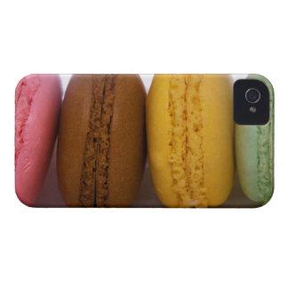Macarons franceses gastrónomos importados (macarro Case-Mate iPhone 4 cárcasas