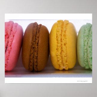 Macarons franceses gastrónomos importados (macarro impresiones