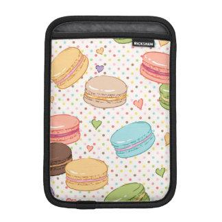 Macarons, galletas, pasteles franceses, funda iPad mini