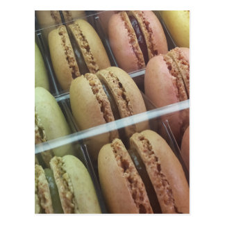 Macarons galore postcard