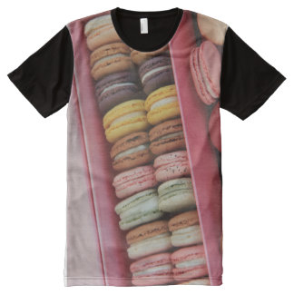 Macarons in different colors All-Over print shirt