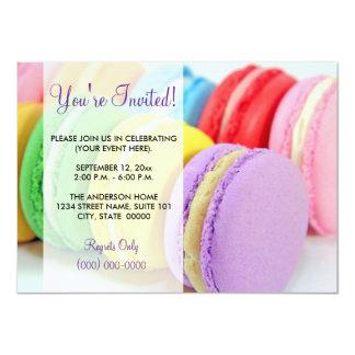 Macarons Invitations