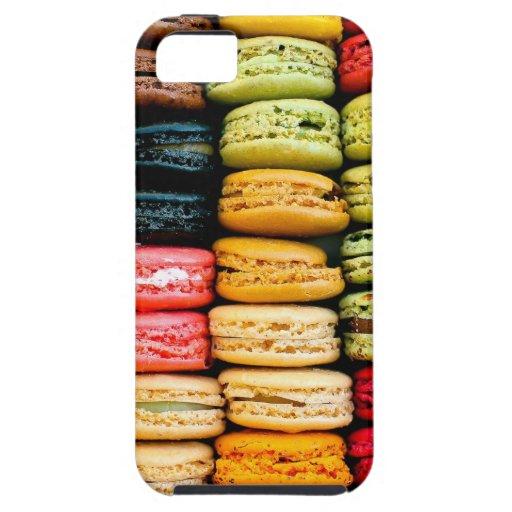 Macarons iPhone 5 Carcasa